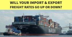 WILL YOUR IMPORT & EXPORT FREIGHT RATES GO UP OR DOWN?